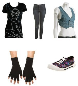 emo clothes for girls
