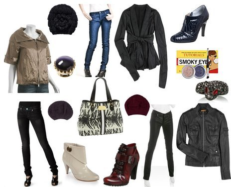 Rock style girls