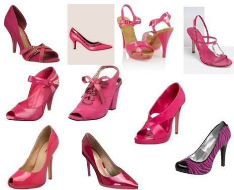 hot pink shoes. Hot Pink Heels for Fall