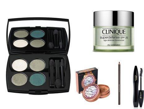 Benefit, Lancome, Clinique