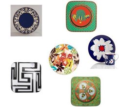 Kate Spade, Versace By Rosenthal, Versace By Rosenthal, Versace By Rosenthal, Wedgwood, Missoni