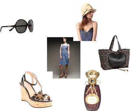 Urban Outfitters, Yves Saint Laurent, Annick Goutal, Marc by Marc Jacobs, Chloé, Stella McCartney