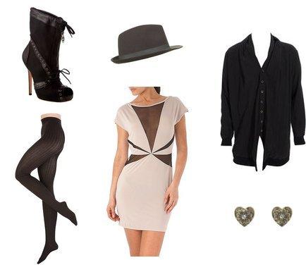 Alexander McQueen, Ann Demeulemeester, New Look, Esprit, Topshop, Ra-Re