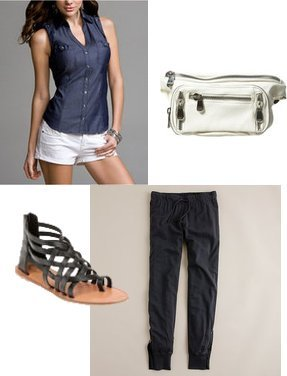 Topshop, Urban Outfitters, Express, J.Crew
