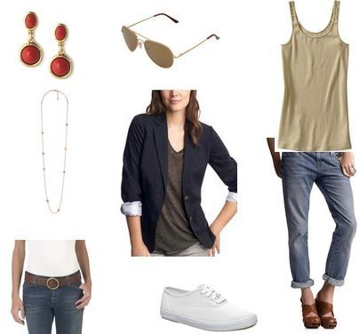 Old Navy, Keds, Forever 21, Gap, Gap, Mossimo