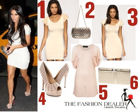 Kardashian    on The Fashion Dealer  Request  Kim Kardashian S Sexy Dress Look For Less