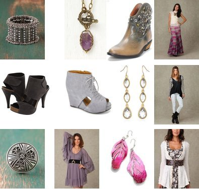Aurelie Bidermann, Schiff, Lucky Brand, Jeffrey Campbell