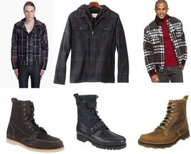 Dr. Martens, Polo Ralph Lauren, Sebago, Sean John