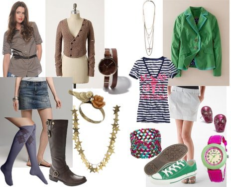 Forever 21, Rachel Roy, Mudd, Converse, American Eagle
