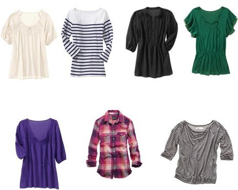 Madewell, American Eagle, Old Navy, Old Navy