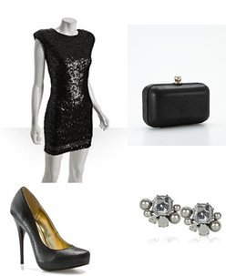 Lee Angel, Ann Taylor, Michael Antonio, Single Dress
