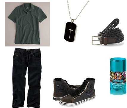 Ed Hardy, Fossil, Enyce, GUESS, J.Crew