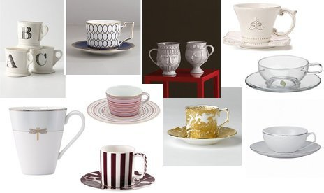 Anthropologie, Rosenthal, Crate & Barrel, Raynaud
