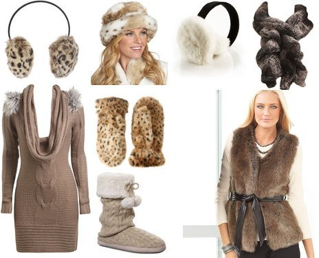 Trendy Winter Clothing Made of Guilt Free Fur | My Vogue Trendy, Cute Outfits, Women Fall 2010 Clothing Reviews from my-vogue.com