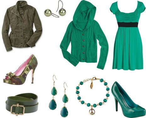 Cute Winter Outfits in Green and Merry Christmas! | Trendy, Cute Outfits, Women Winter Outfits 2010 Reviews : My-Vogue :  party outfits cute outfits green outfits trendy outfits