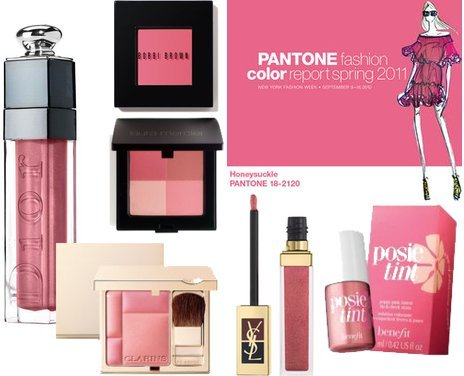 BEAUTY: PANTONE Color of the Year: 18-2120 Honeysuckle