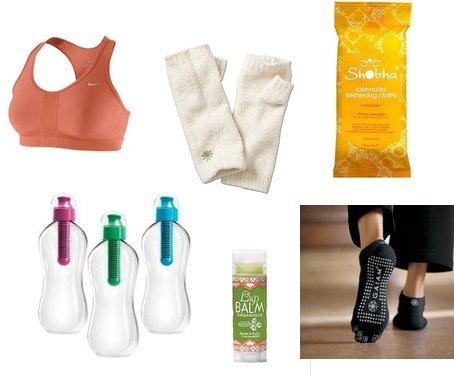 Gaiam, Nike, Athleta, Lulu, Shobha, Karim Rashid