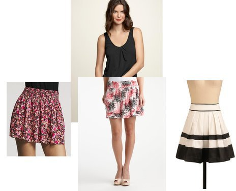 Charlotte Russe, Express, Gap