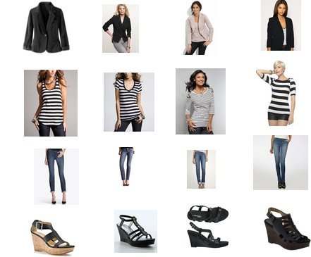 Asos, Gap, Newport News, New York & Co., Forever 21