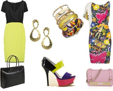 Milly, Topshop, Lodis, Narciso Rodriguez, Versace