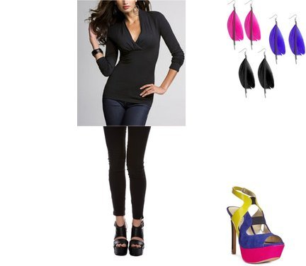 Wet Seal, Jessica Simpson, Express, Forever 21
