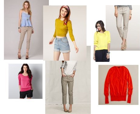 Forever 21, J.Crew, LOFT, Asos, Gap, Lands' End Canvas