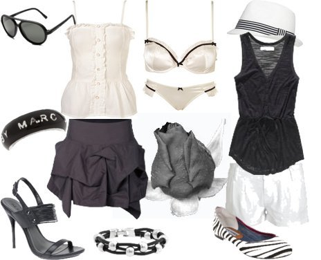 Cute and Affordable Outfits in Black and White for Spring