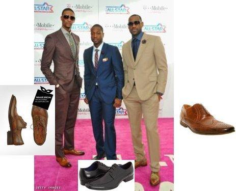 Dwyane Wade & Lebron James NBA Post Bulls Game Press Conference  Fashion & Style
