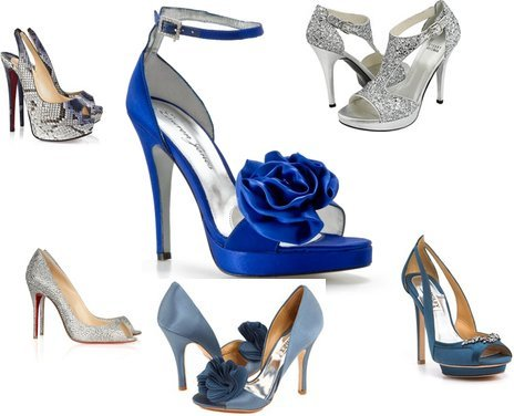 Badgley Mischka, Christian Louboutin, Badgley Mischka