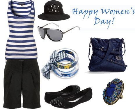 Cute Outfit for Spring to Celebrate Women's Day