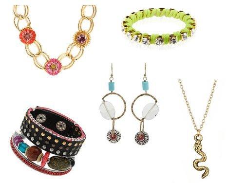 Lucky Brand, Ettika, Topshop, Betsey Johnson
