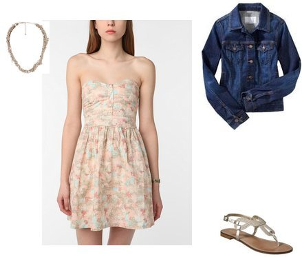 Forever 21, Merona, Old Navy, Urban Outfitters