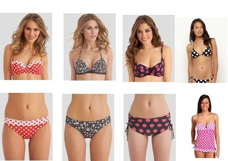 GUESS, Roxy, Fantasie, Fantasie, Seafolly