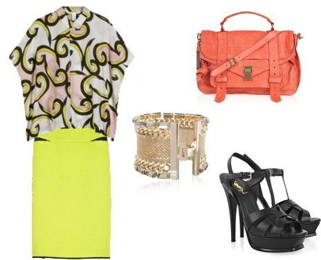 Marni, Yves Saint Laurent, Proenza Schouler