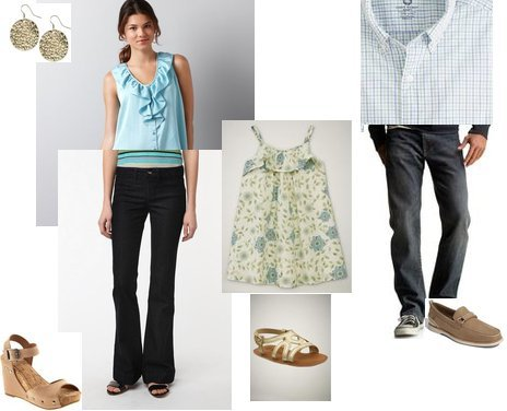 Gap, Gap, Gap, Sperry, J.Crew, Old Navy, Lucky Brand
