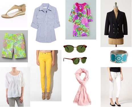 Calvin Klein, Anthropologie, Lilly Pulitzer
