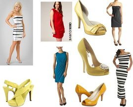 Badgley Mischka, Asos, Nine West, Nine West