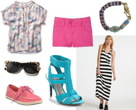 Betsey Johnson, Quiksilver, Juicy Couture