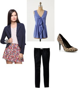 JS by Jessica, Forever 21, Anthropologie, Old Navy