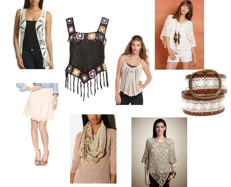 Delia's, Urban Outfitters, Forever 21, GUESS