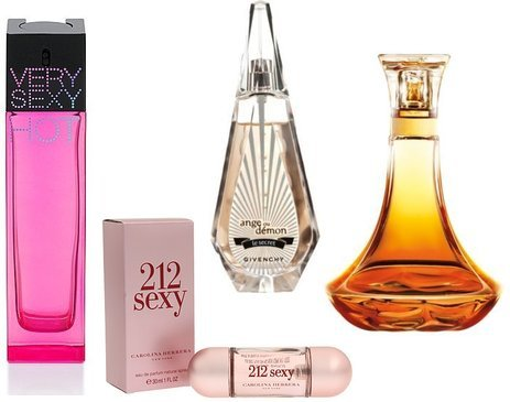 Givenchy, Ulta, Carolina Herrera, Very Sexy