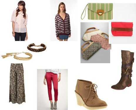 Asos, Forever 21, Topshop, Gap, Old Navy, New York & Co.