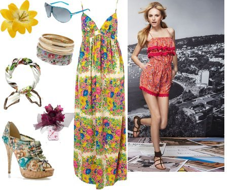 Cute Outfits with Floral Prints – Summer 2012 Trend Report
