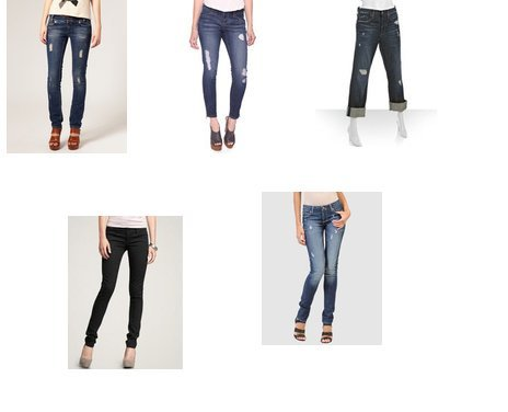Genetic Denim, Gap, Paige, Forever 21, River Island