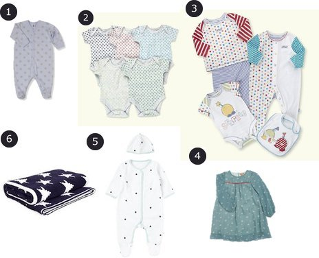 John Lewis, Marks and Spencer, Mothercare