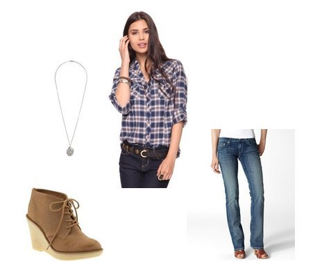Old Navy, Forever 21, Levi's