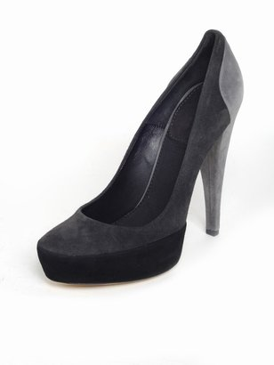 Donna Karan Suede Pump - Heels