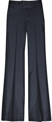 K Karl Lagerfeld Wool-blend tailored pants - Pants &amp; Shorts