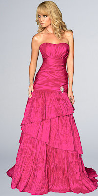 Pleated Ball Gowns from Night Moves by Allure - Princess Dresses