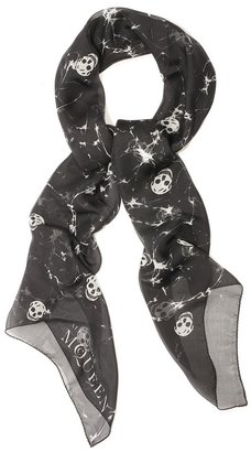 Ice Skull Scarf - Alexander McQueen Scarves